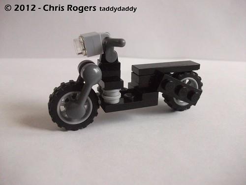 Lego Wolverines Harley 6