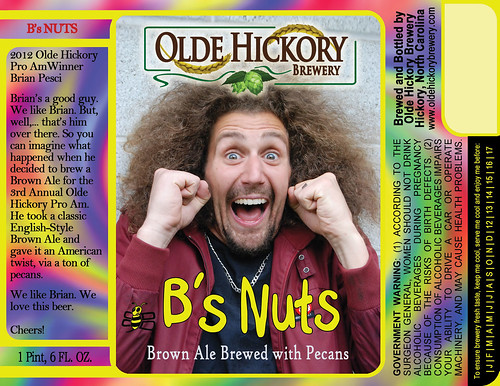 B's Nuts Label