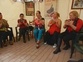 vídeo 7 Taller aprendizaje palmas impartido por Amparo Navarro V Feria abril Las Palmas de Gran Canaria 2012