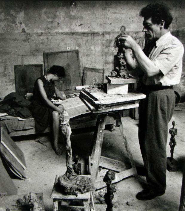 Alexander Liberman - Alberto & Annette Giacometti, ca. 1950-222