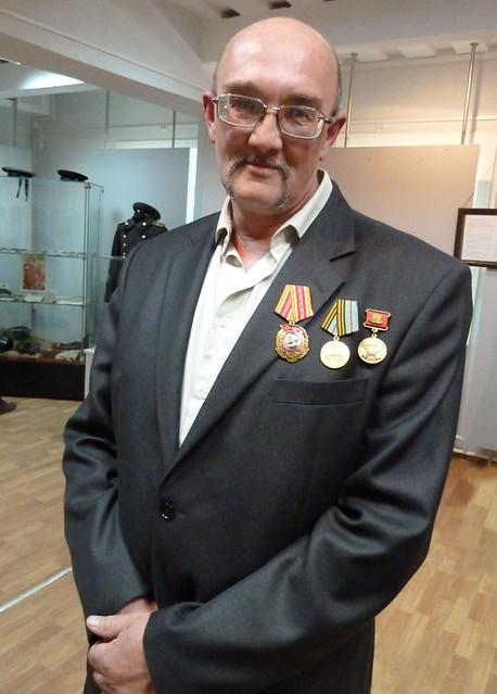 9 мая Минск  Игорь Бабицкий  Выставка военного обмундирования 1 домик РСДРП