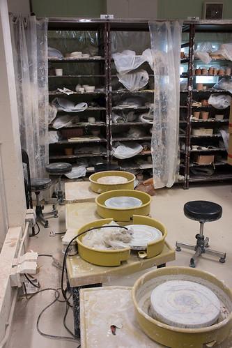 陶瓷工房內部