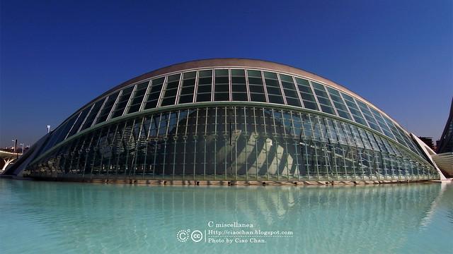 Hola Valencia~瓦倫西亞。藝術科學城 Ciudad de las Artes y las Ciencias     R1043367