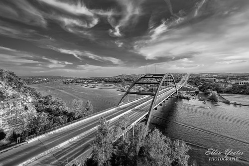 360bridge ellenyeatesphotography thepennybackerbridge capitoloftexashighway ellenyeates 360 pennybacker austin boat bridge evening hdr landscape loop overlook river sky texas usa yeates