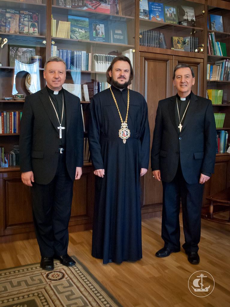 11 июня 2012, Визит президента Конференции епископов Колумбии