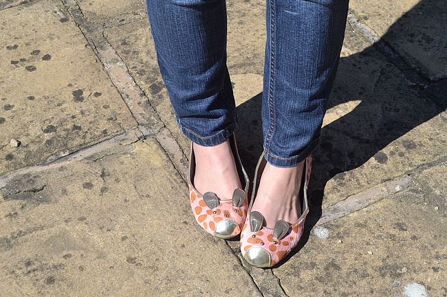 daisybutter - UK Style and Fashion Blog: what i wore, wiwt, ootd, le bunny bleu