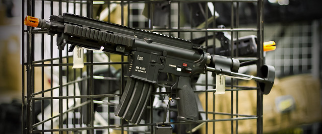 Elite Force HK 416C AEG - US Airsoft Expo - Pyramyd Airsoft Blog