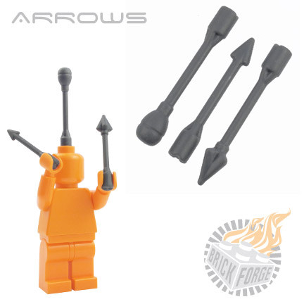 Arrows - Dark Blueish Gray