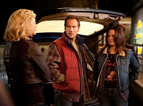 Mavis (Theron), Buddy (Wilson) and Beth (Elizabeth Reaser)