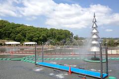噴水@長岡丘陵公園