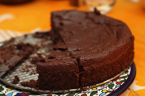 Chocolate-Prune Cake - David Lebovitz