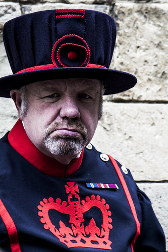 Yeoman, Tower of London. Nellu Mazilu