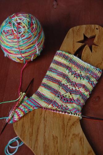 Kaylee's Parasol Socks