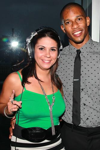 DJ Blazita and Victor Cruz