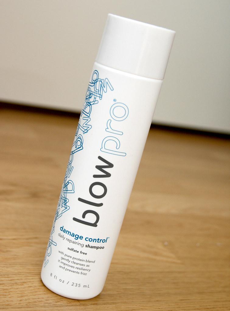 blow pro damage control shampoo