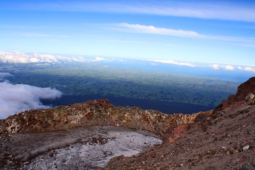Mt. Taranaki crater