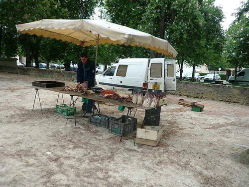 Asparagus stall