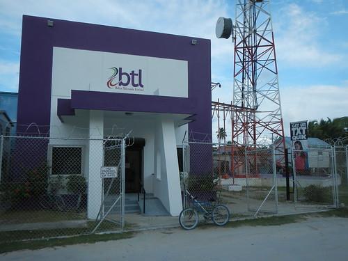 BTL office on Caye Caulker