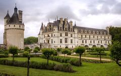 Schloss Chenonceaux - Garten der Katharina von Medici
