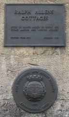 Photo of Ralph Allen bronze plaque