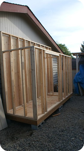 Shed Progress 0507