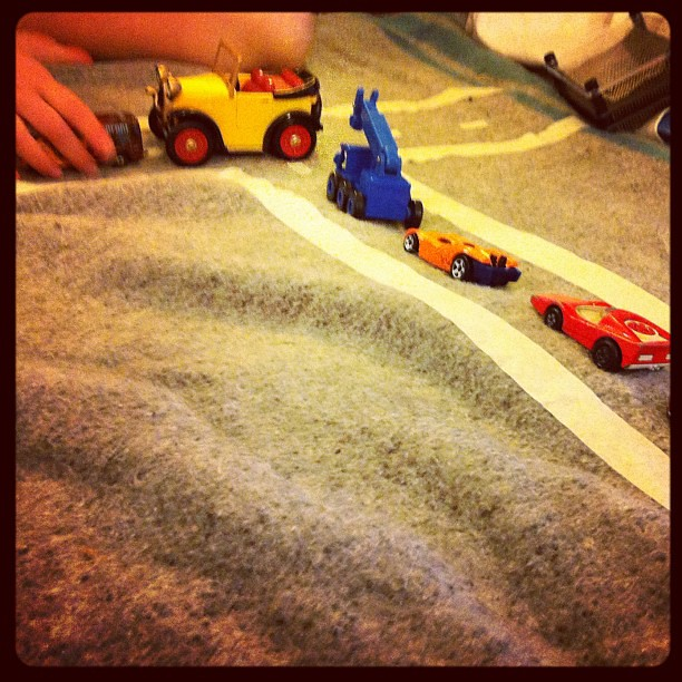 Drive time... #play #owlets #cars