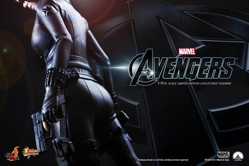 Hot Toys - Movie Avengers Black Widow teaser pic