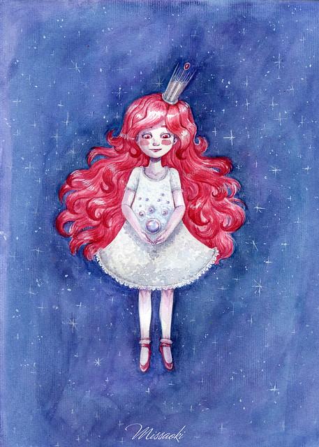 La emperatriz de las estrellas // The empress of stars