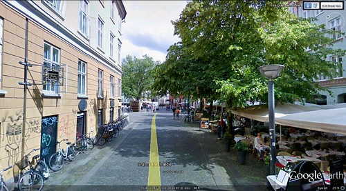 Copenhagen walking route view 4 (via Google Earth)