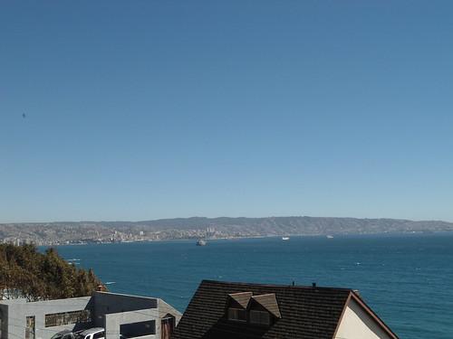 Vista de Valparaíso desde Reñaca/View of Valparaiso from Reñaca, Chile 2012 - www.meEncantaViajar.com by javierdoren