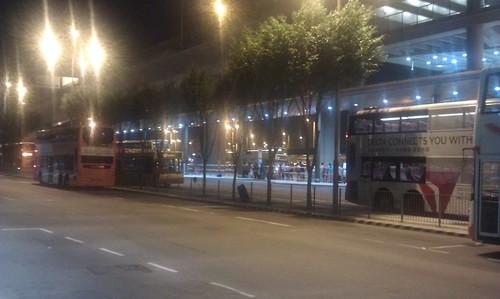 香港国際空港 バス乗り場