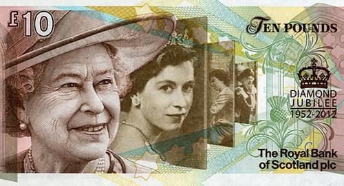 Diamond Jubilee banknote
