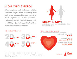 Heart Disease Risk Factor: High Cholesterol