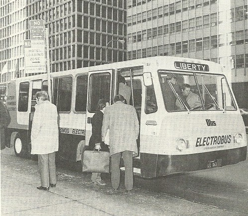 1974 New York City: Otis Electrobus