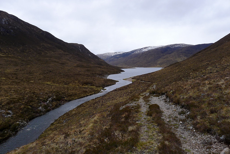 Descent to Loch na Caoidhe