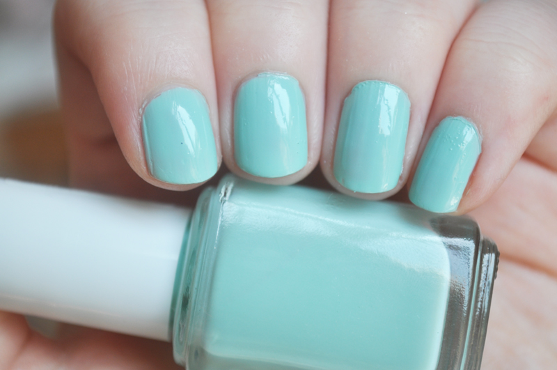 essie mint candy apple nail polish notd