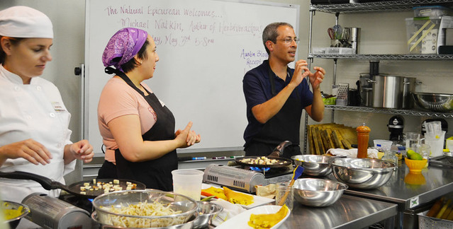 Michael Natkin at The National Epicurean Academy in Austin, Texas