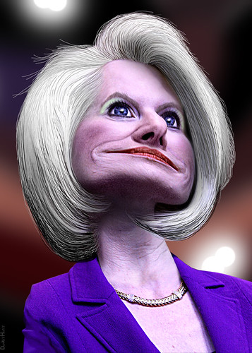 Callista Gingrich - Caricature