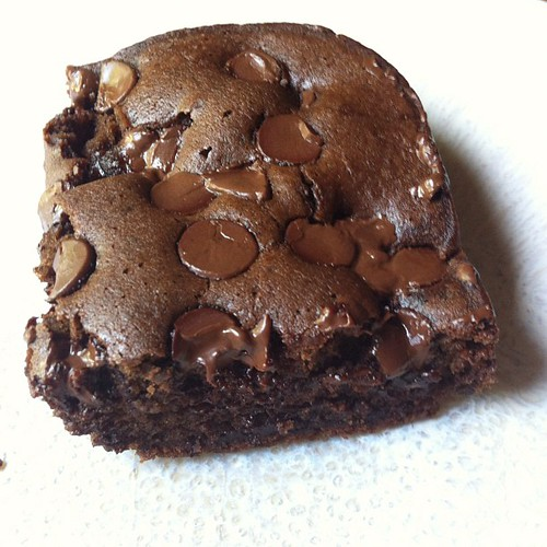 Black bean brownie was awesome!!! #yum