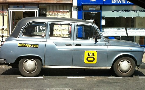 salesforce cloudforce hailoapp taxi app
