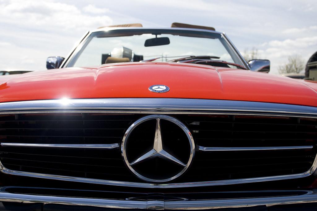 Old Mercedes Benz