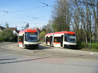 Gdansk Nos. 1015 (left) and 1036 (right).