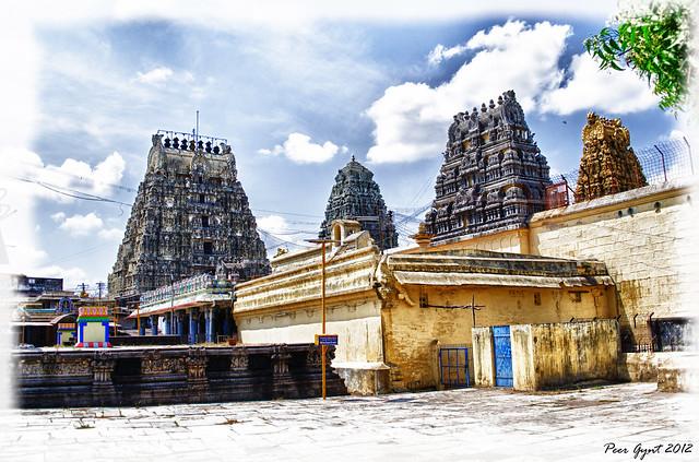 Kamakshi Amman Temple. Храм Камакши Амман. Канчипурам.