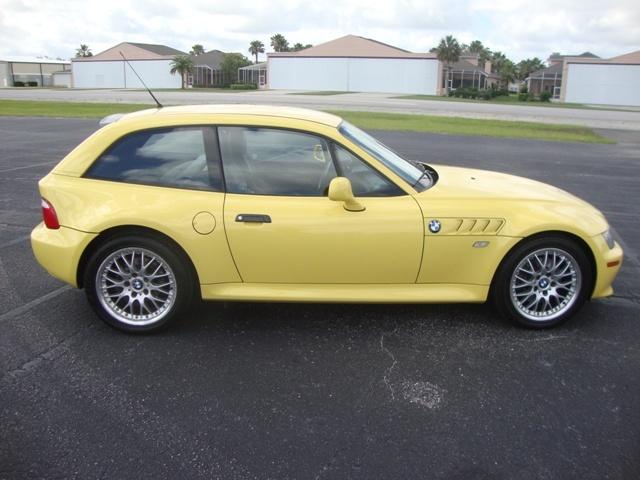 2001 Z3 Coupe | Dakar Yellow | Black | VIN WBACK73431LJ15266