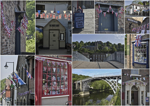 Ironbridge ready for the Olympic torch ...