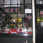 Burslem jubilee shop decorations