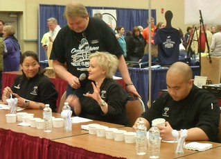 Clam Chowder judges