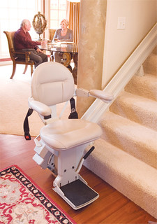 Comfortable stairlift