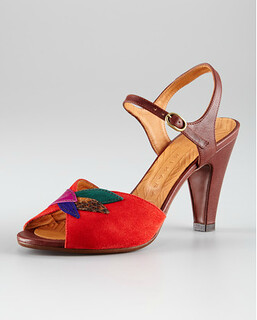 Chie Mihara Leaf Sandal NM Retail $360 on sale for $241