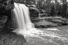 """Okun - de - Kun Falls""  Michigan's Upper Peninsula by Michigan Nut"